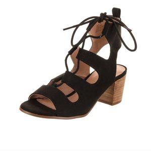Madden Girl Black Heeled Sandals